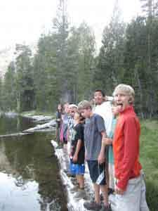 Tawonga summer teen adventure camp