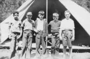 jewish summer camp in the 1920s