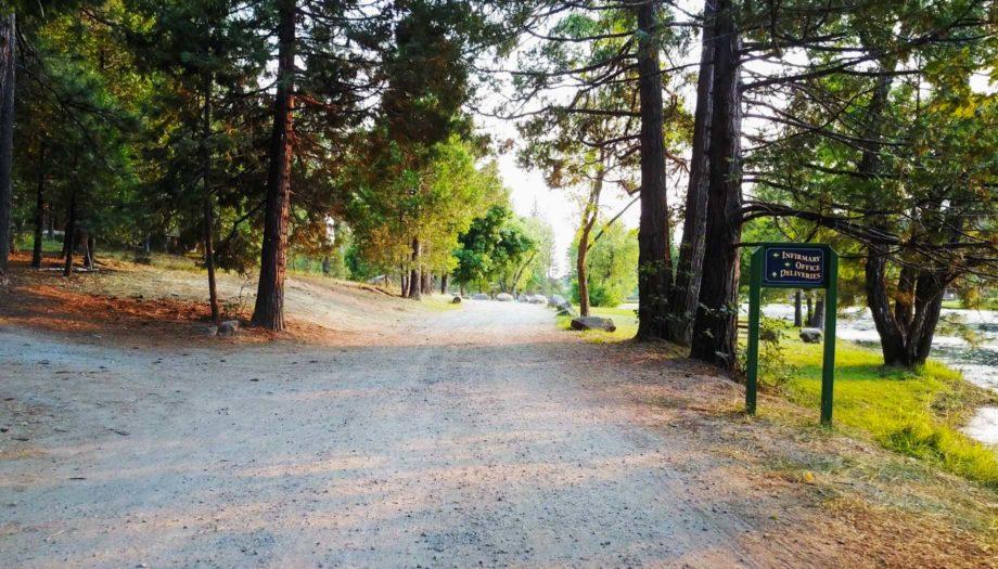 Entryway to Camp Tawonga