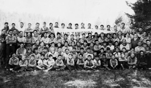 Group of Camp Tawonga campers back in the day