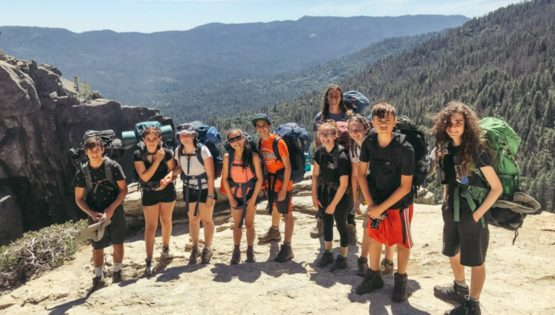 Backpackers on the Magical Mystery quest