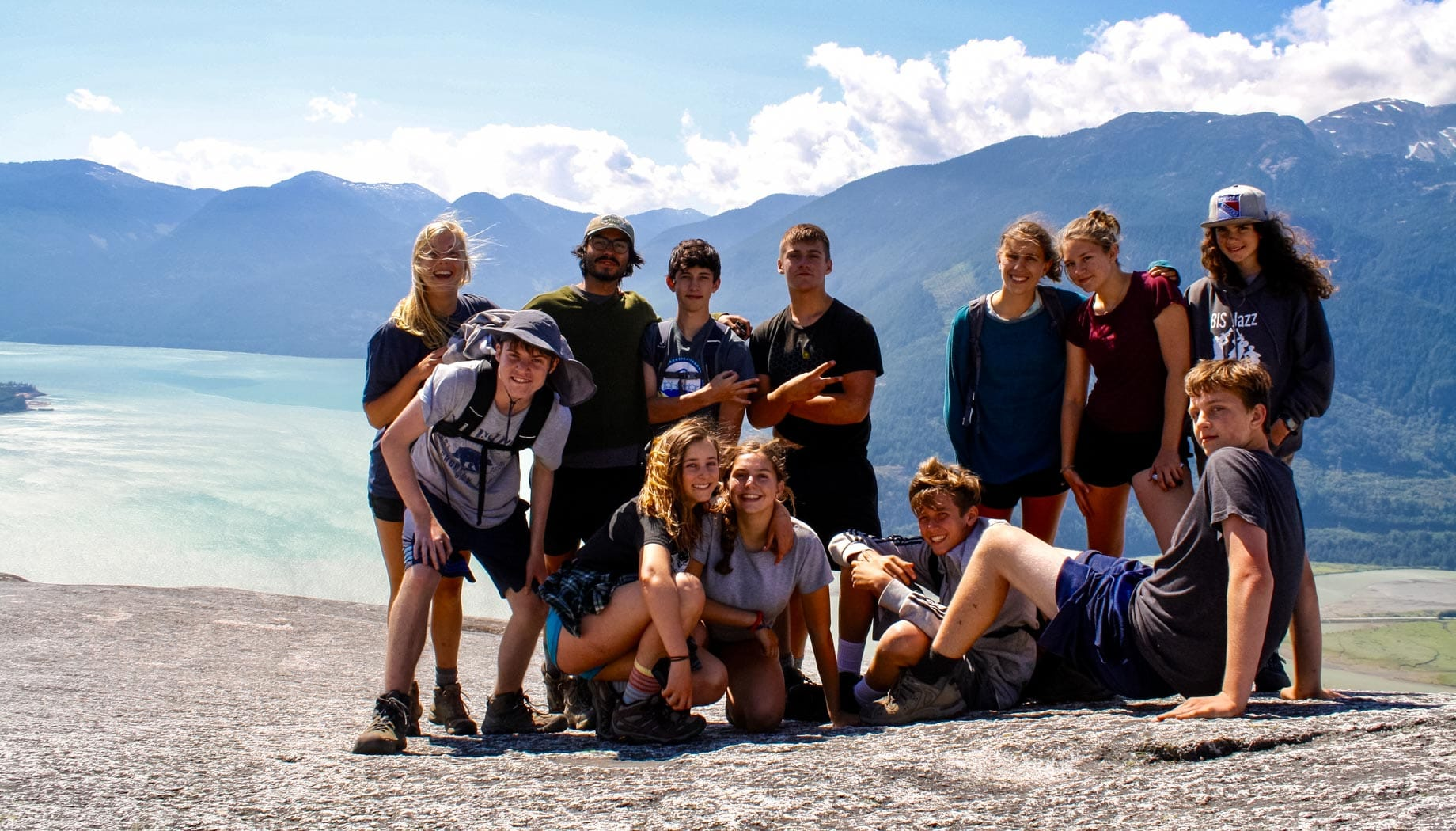 Hiking on the Northwest Canada quest