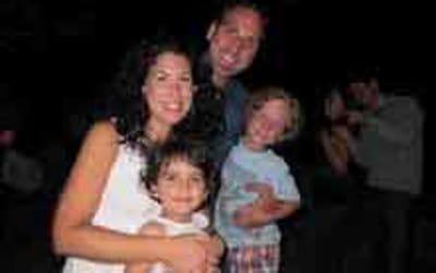 Jessica Colvin and family