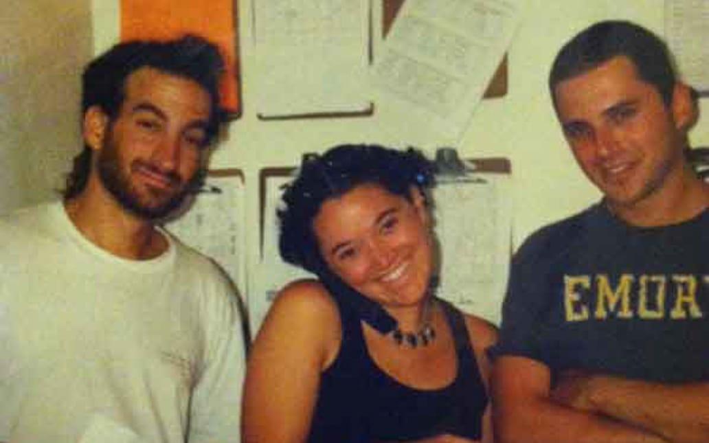 Joe and Jen Boxerman with a friend
