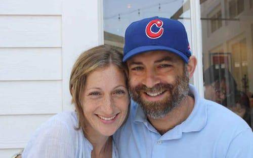 Jordan Gill and wife
