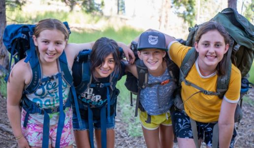 Girls on Women of the Wild quest