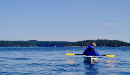 Kayaking on the Northwest/Canada Quest adventure quest